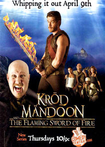 Kr?d M?ndoon and the Flaming Sword of Fire